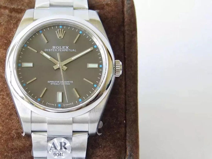 grey dial 1:1 rolex 114300 replica watch