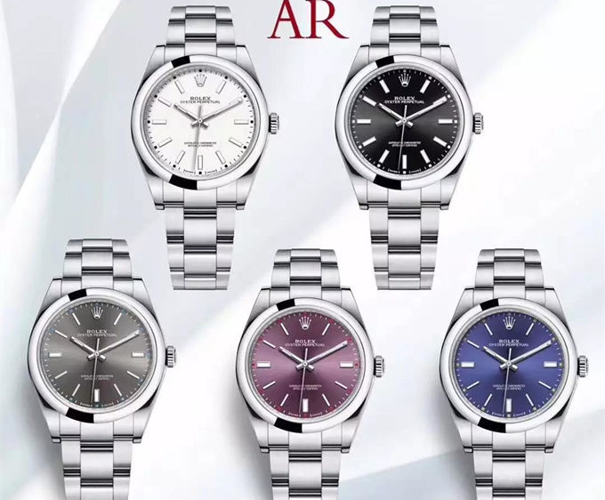 5 colors Rolex 114300 replica watches